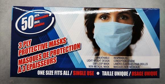 Masque jetable 50 pièces
