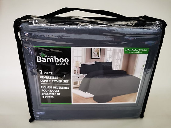 Drap bamboo 3 pièce double/grand