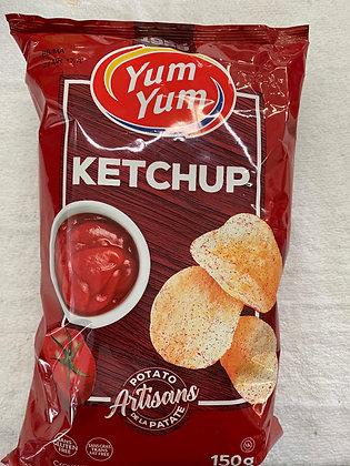 Chips ketchup yum yum