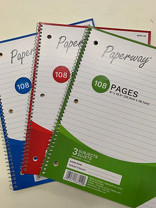 Paperway 108 page