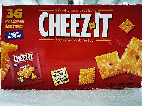 Cheez-it craquelins fromage 36 sachets de 42gr.
