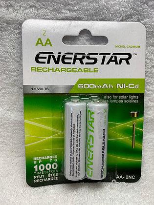 Enerstar piles rechargeables AApqt de 2