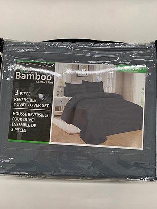 Enssemble de draps 3 pcs en bamboo  queen