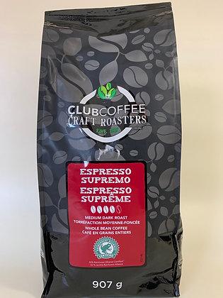 Club coffee espresso supreme