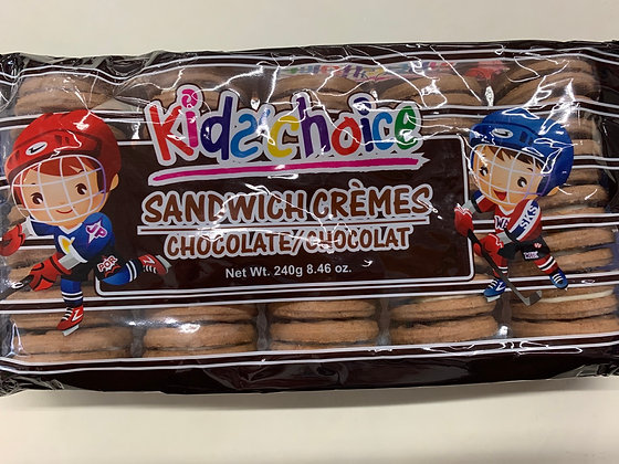Biscuits choco vanille kid's choice