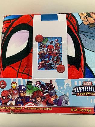 Couverture lourde Marvel pour enfant