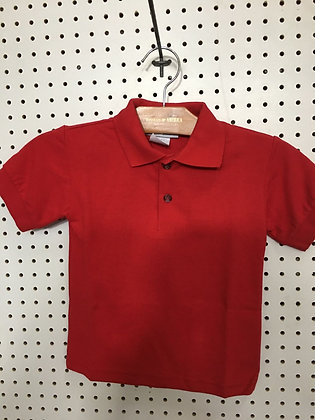 POLO GARCON ROUGE