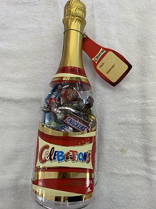 Chocolat en bouteille célébration