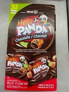 Biscuit panda au chocolat