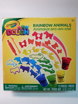 CRAYOLA DOUGHT ANIMAUX 12 PCS