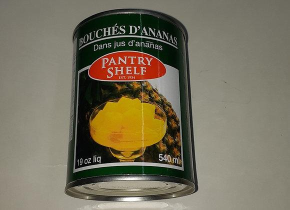 Bouchée d'ananas