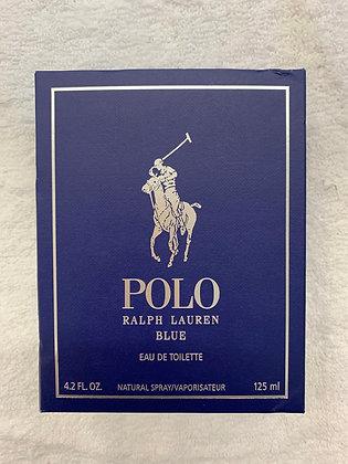 Polo bleu