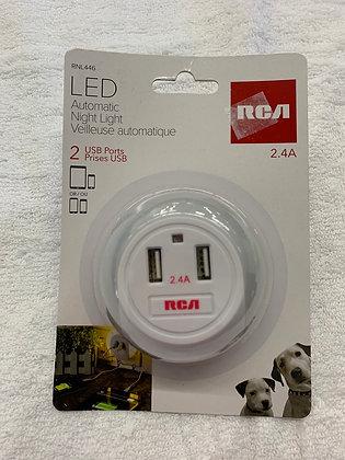 Prise USB LED