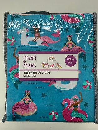 Marie + Mac enssemble de draps simple