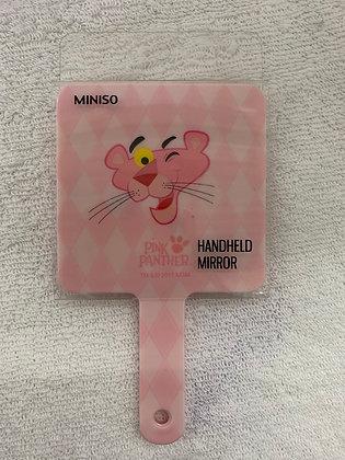 Miroir panthère rose