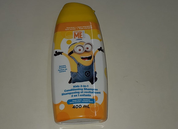 shampoing et revitalisant les minions
