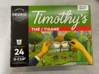Thé Timothy's 24 k-cup
