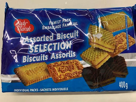 Assortiment de biscuits lady Sarah 400g