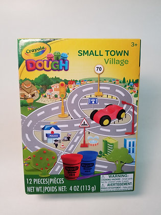 CRAYOLA DOUGHT VILLAGE 12 PCS