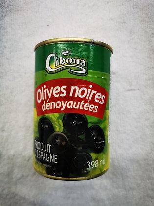 Cibona olives noires dénoyauées