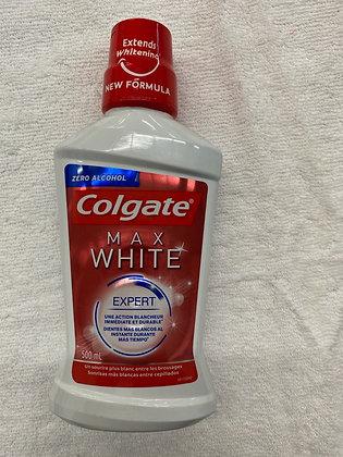 COLGATE RINCE BOUCHE MAX WHITE 500ML