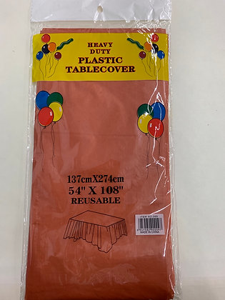 Nape en plastique pour fête 137cmX274cm