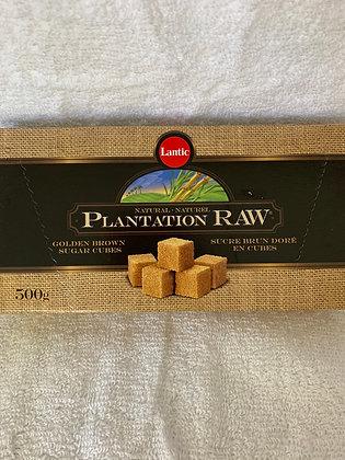 Lantic sucre brun en cubes 500gr