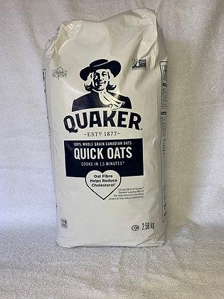 Quaker gruau rapide 2.58kg