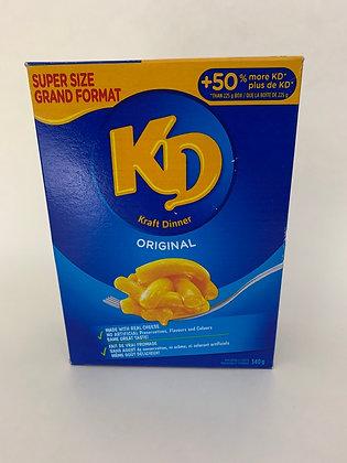 Kraft dinner original 340 g