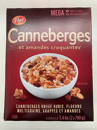 Céréales canneberge et amande croquante