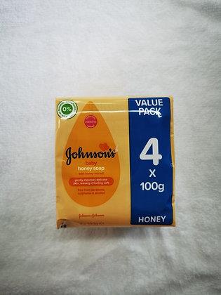Barre de savon Johnsons 4x100g