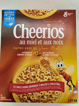Cheerios au miel et au noix