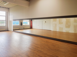 Tanzraum Spiegel