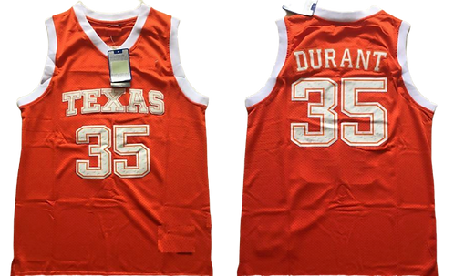 Kevin Durant Texas College Jersey
