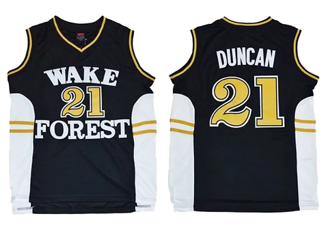 Tim Duncan '1993 Wake Forest Jersey