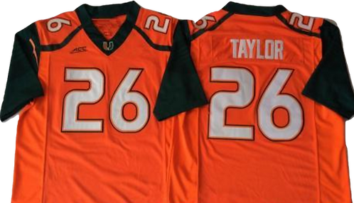 Sean Taylor '2002 Miami College Jersey