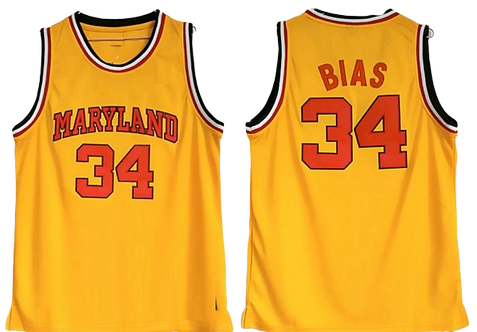 Len Bias Maryland College Jersey