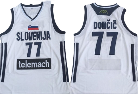 Youth Luka Doncic Slovenia Jersey