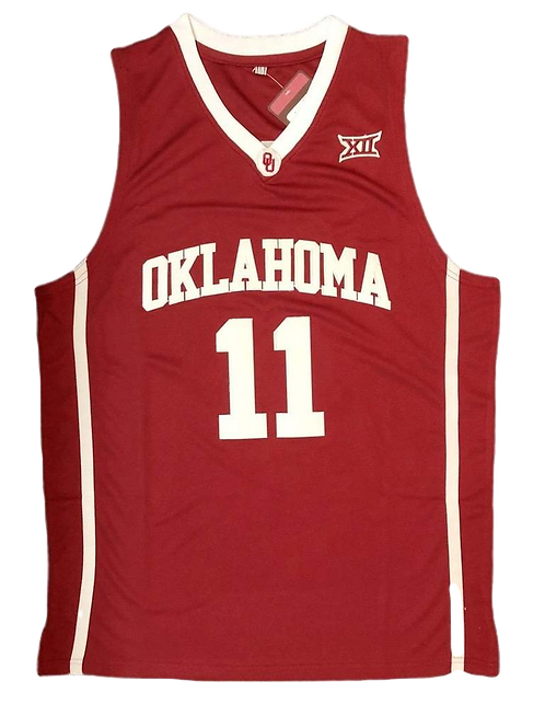Trae Young Oklahoma College Jersey