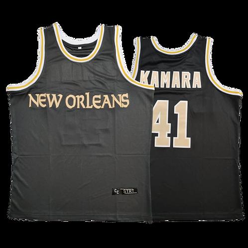 Kamara New Orleans Hoops Jersey