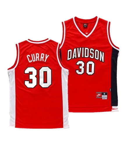 Steph Curry College Jersey