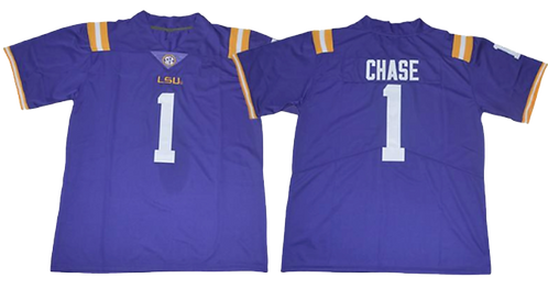 Ja'Marr Chase College Jersey