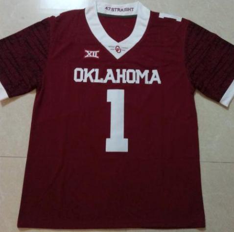 Jalen Hurts Oklahoma College Jersey