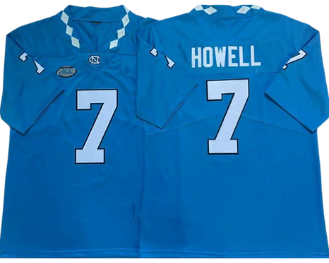 Sam Howell College Jersey