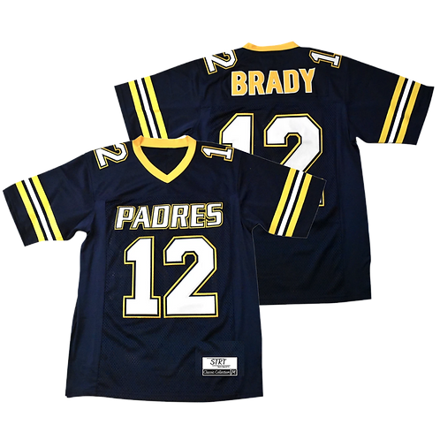 Youth Brady Junipero Serra Padres High School Jersey