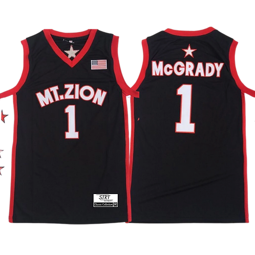 T McGrady Mt. Zion High School Jersey