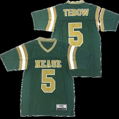 Retro Tebow High School Jersey