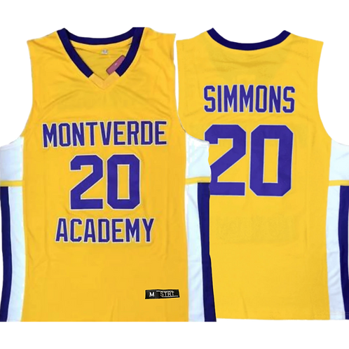 Youth B Simmons High School Jersey
