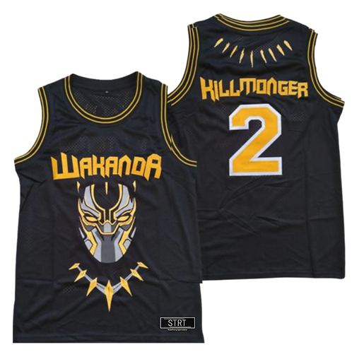 Killmonger Black Panther Jersey