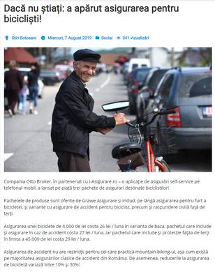 Press Release Example on stiri.botosani.ro